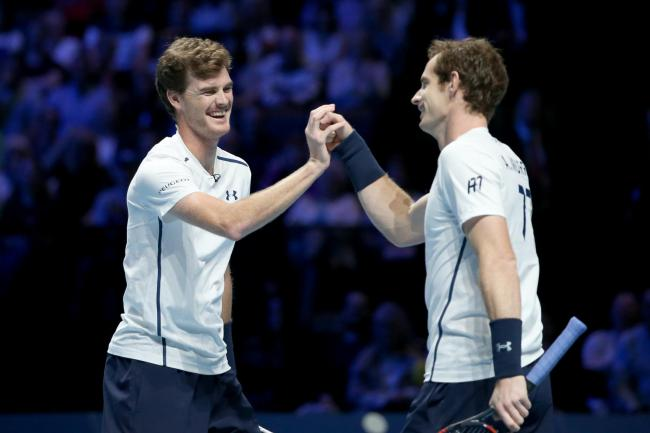 Jamie and Andy Murray will be back in action next month