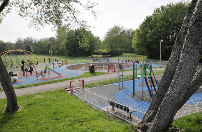 Middleleaze Park's play area