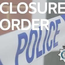 Police and Wiltshire Council obtained a three-month closure order in a Trowbridge address