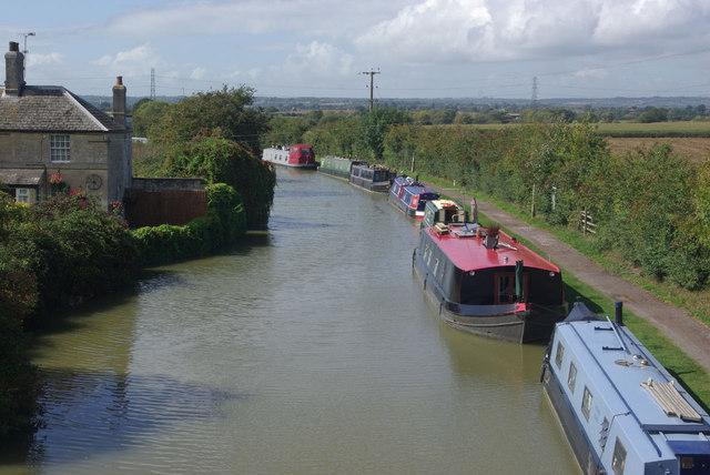 The canal at Semington
