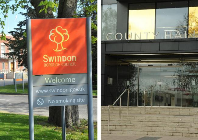 Talk that Swindon and Wiltshire councils will merge has been scotched