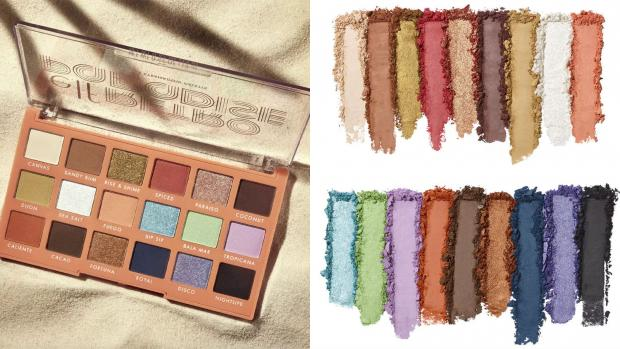 This Is Wiltshire: Choose from metallic and matte finishes and vibrant and neutral colours with the E.L.F. Cosmetics Retro Paradise Eyeshadow Palette. Credit: E.L.F. Cosmetics