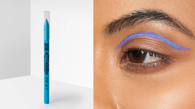 This Is Wiltshire: Add some flair to your eye look with the L.A. Girl Shockwave Neon Liner. Credit: L.A. Girl