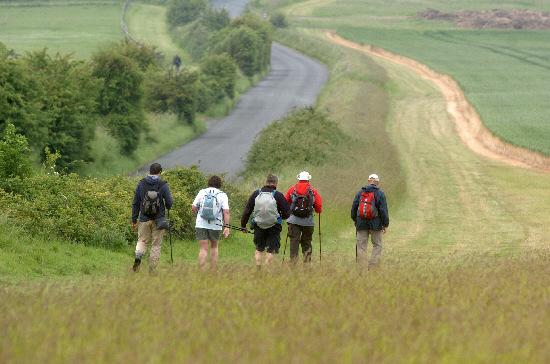 This Is Wiltshire: Organisers would like to provide breakfast for this year's White Horse Challenge walkers