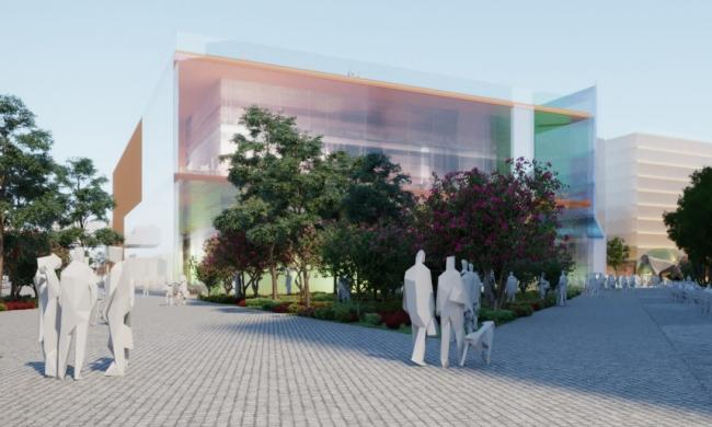 Designs of the new cultural quarter from Make Architects