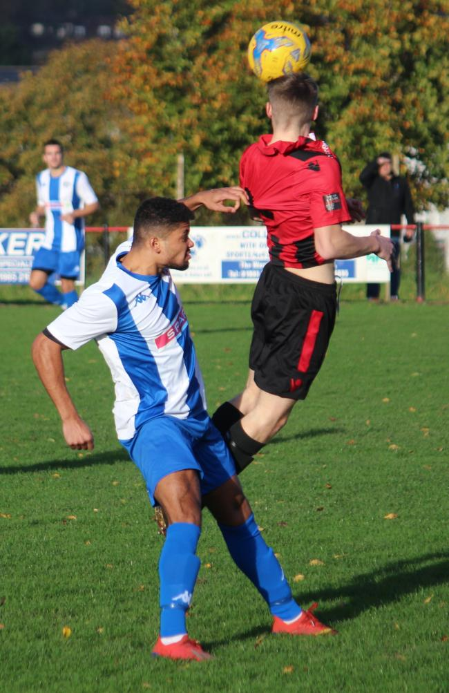 Action from Warminster v Devizes      Photo: Jamie House