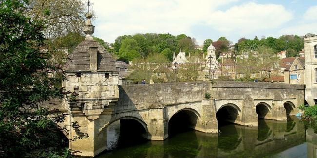 The bridge in Bradford on Avon