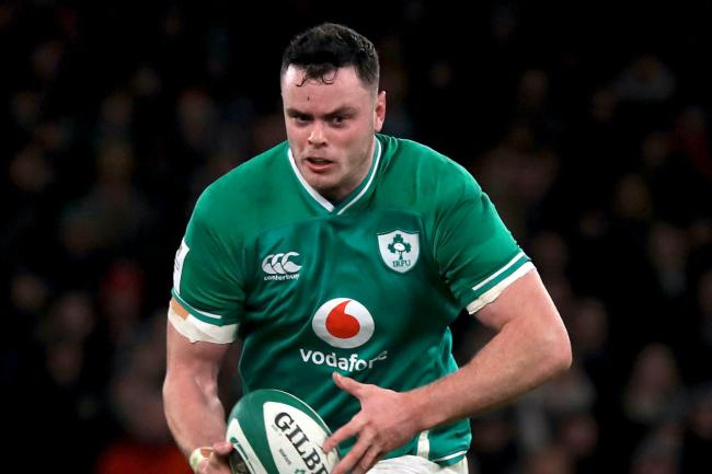 James Ryan says Ireland will learn from their defeat to England
