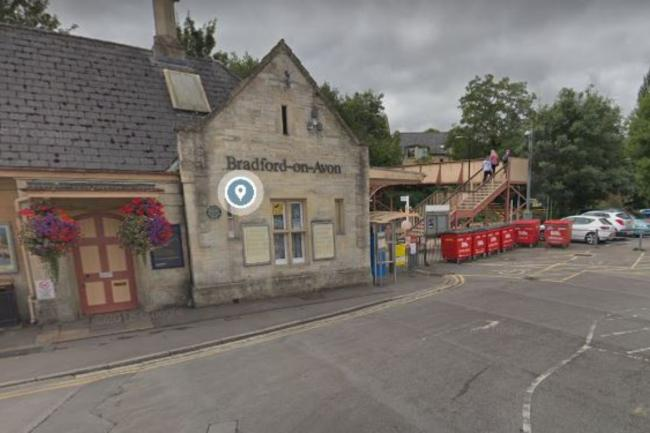 Bradford on Avon railway station Picture: GOOGLE