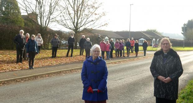 This Is Wiltshire: The villagers of Rowde oppose the closure. Photo taken before lockdown