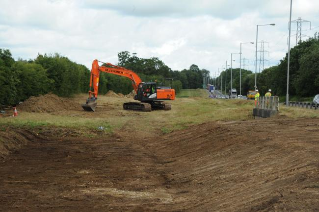 A350 Roadworks at Chippenham  have started work..