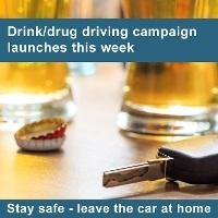 Police urge people to report suspected drink and drug drivers
