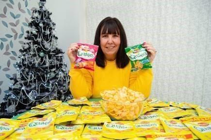 Το Quavers superfan κερδίζει προμήθεια αγαπημένου σνακ για όλη τη ζωή