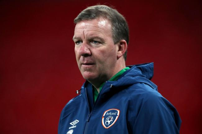 Outgoing Republic of Ireland goalkeeping coach Alan Kelly