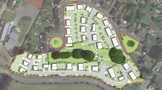 This Is Wiltshire: An image showing a type of development the site could hold