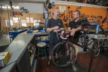 Trowbridge bike project for the homeless gets coronavirus grant