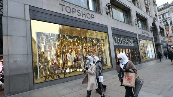 Asos hold exclusive talks to buy Arcadia's Topshop and Miss Selfridge. (PA)