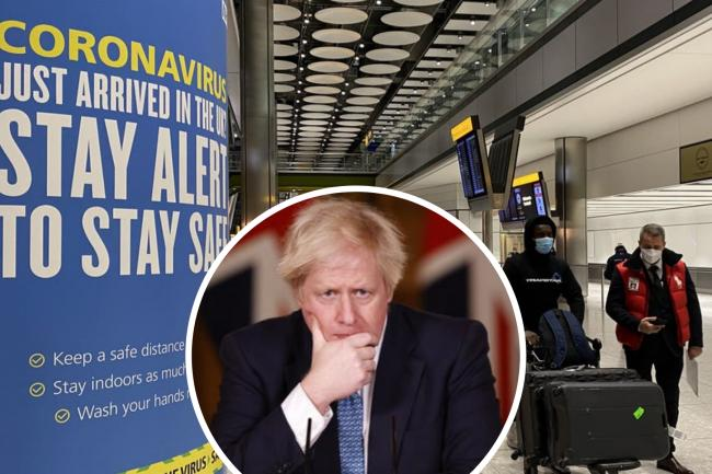 Boris Johnson set to announce new UK quarantine plans. (PA/Canva)