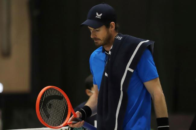 Andy Murray lost in straight sets