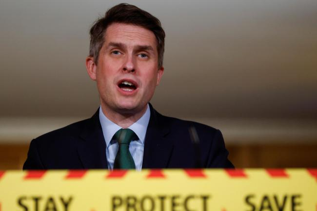 Education Secretary Gavin Williamson