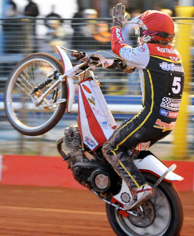 This Is Wiltshire: Mads Korneliussen back in his Robins' days