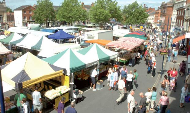 This Is Wiltshire: Devizes market