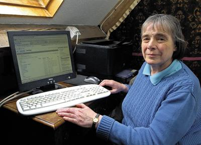 This Is Wiltshire: Celia Blay, who helped to track down William Melchert-Dinkel last year