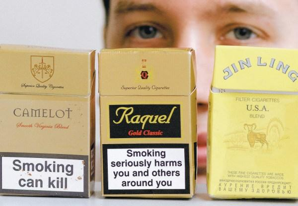 This Is Wiltshire: Illegal cigarettes are on sale all over Wiltshire