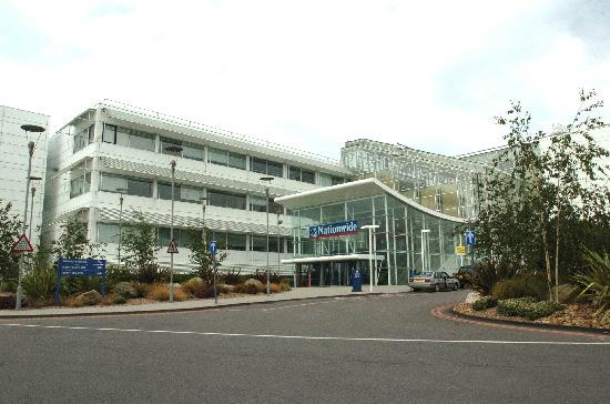 This Is Wiltshire: Nationwide's headquarters in Pipers Way