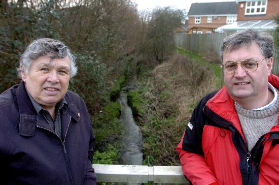 This Is Wiltshire: Couns Rex Barnett and David Renard, who have been lobbying to stop changes being made to a vital bus service in Haydon Wick