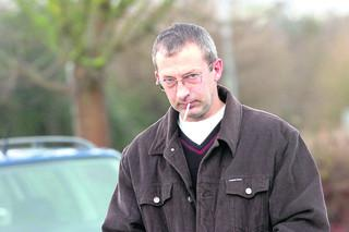 This Is Wiltshire: Martin Redfern at North West Wiltshire Magistrates' Court after being issued with his Asbo