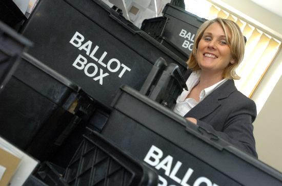 This Is Wiltshire: Electoral officer Sally Sprason