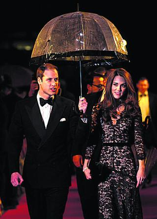 The Duke and Duchess at the UK premiere of War Horse
