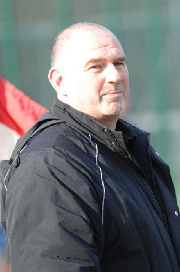 Swindon College Old Boys manager Martin Peaple