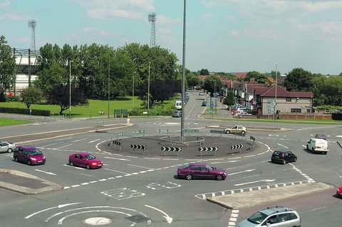 Despite the complexities of the Magic Roundabout a survey shows Swindon is the safest town to drive in in the UK