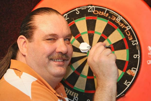 Swindon darts star Dennis Smith