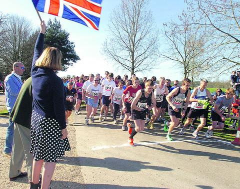 This Is Wiltshire: Runners at a previous 10k charity race