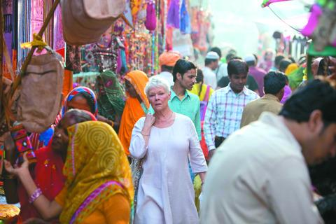 This Is Wiltshire: A scene from the film, The Best Exotic Marigold Hotel