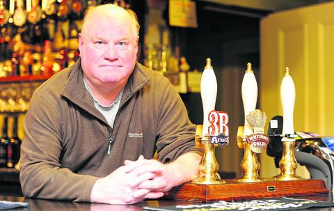Carpenter's Arms boss Bob Feal-Martinez is moving to the coast with wife Barbara
