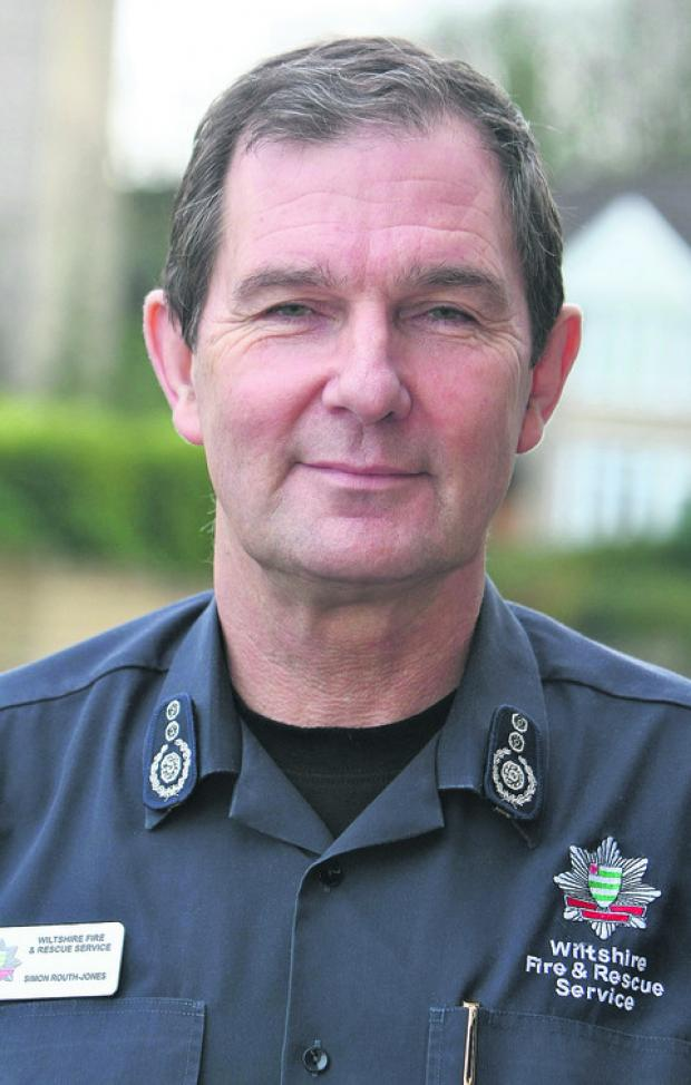This Is Wiltshire: IN THE HOTSEAT: Chief fire officer Simon Routh-Jones answers your questions