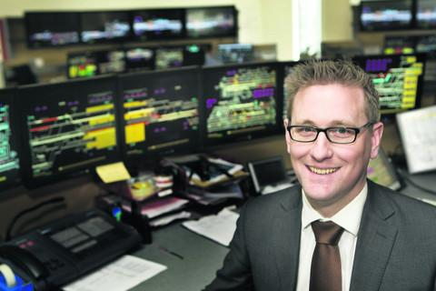 Patrick Hallgate, Network Rail's route managing director