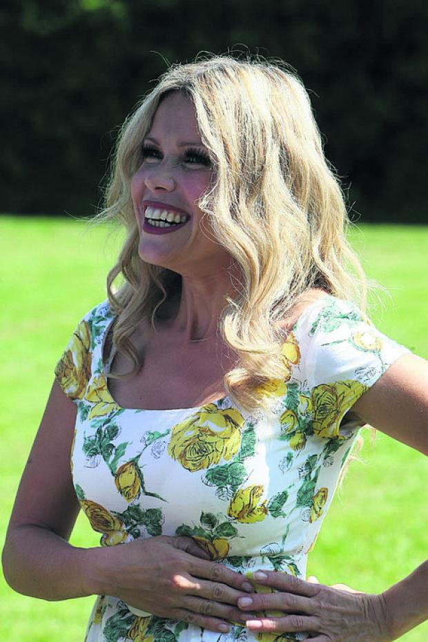 Melinda Messenger ends her 14-year marriage