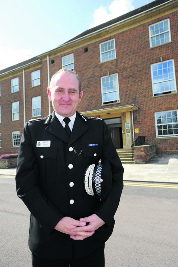 This Is Wiltshire: Chief Constable Patrick Geenty sets out his hopes for the next year