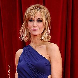 This Is Wiltshire: Katherine Kelly presented a gong at the Olivier Awards
