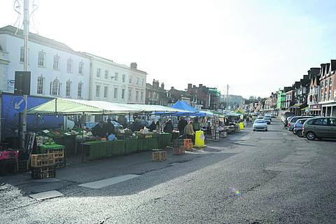 The Market Place, Marlborough