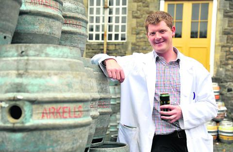 This Is Wiltshire: Head brewer Alex Arkell