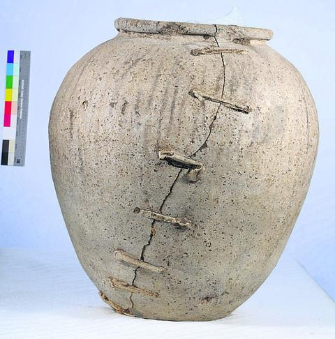the Roman pot dating back more than 2,000 years