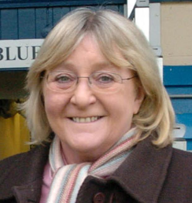 This Is Wiltshire: Chippenham town councillor Sandie Webb
