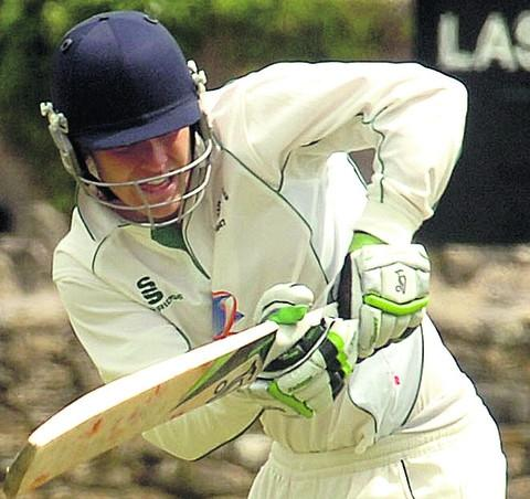 This Is Wiltshire: Corsham's Steve Bullen top scored in Wiltshire's second innings
