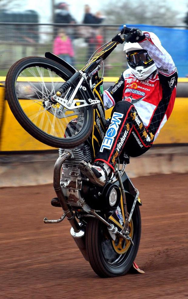 This Is Wiltshire: Peter Kildemand, who has re-signed for Swindon Robins